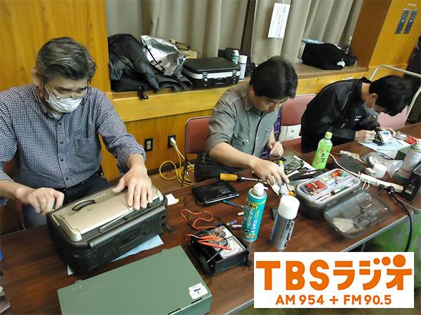 ラジオの修理・電池交換(無料)キャンペーン